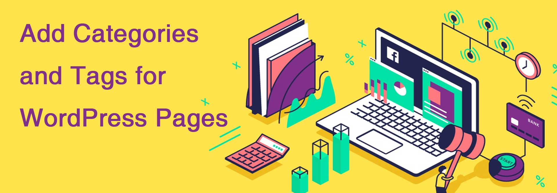 3 Ways to Add Categories and Tags for WordPress Pages - Hamza